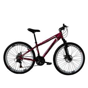 Bicicleta Freeride Aro 26 21v Rosa Neon - Tsw Warship