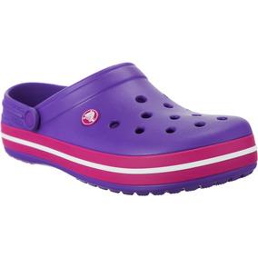 Crocs Originales Crocband Violeta Y Fucsia - Crocs