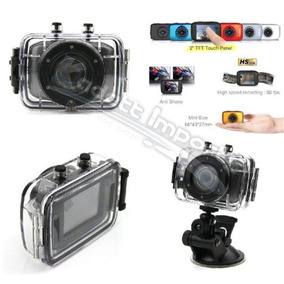 Camera Video Hd 2.0 Touch Screen Waterproof 20m