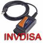 Escaner Automotriz Elm327 Interfaz Usb Obd2 Software Nuevo