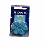 Bateria Aparelho Ouvido Sony - 13 Pr48, 10 Pr70, 675 Pr44