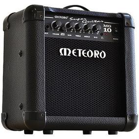 Cubo De Guitarra 10w Rms Super Guitar Mg10 Preto 2 Canais