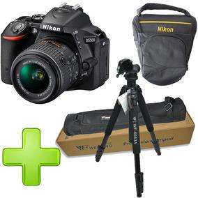 Cámara Nikon D5500 + Tripode Wf - 6663a Obsequio Estuche.