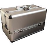 Maletin Porta Cosmeticos Maquillaje Aluminio Profesional Ch
