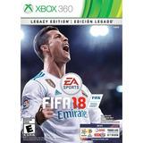 Juego Fifa 18 Edicion Legado Para Xbox 360 Nuevo Sellado