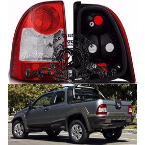 Lanterna Traseira Fiat Strada 2009/2013 Nova Lado Esq.
