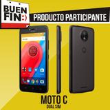 Smartphone Moto C Dual Sim Nuevo Buen Fin + Envío Gratis