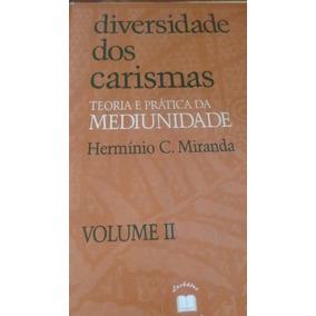 Livro Diversidade Dos Carismas Vol.2 - Promoção - Hermínio