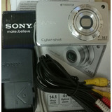 Camara Sony Cyber-shot Dsc-w560 14.1 Mp 4x