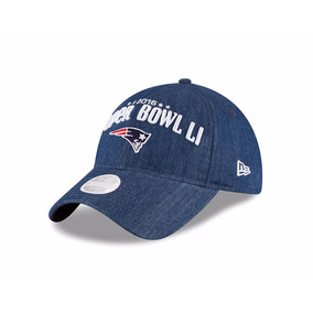 Nfl Gorra New Era New England Patriots Super Bowl Li Mujer