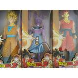 Muñeco Dragon Ball Z Articulados 30 Cm Alto X 3 Unidades