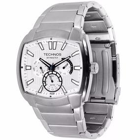 Relógio Technos Masculino Quadrado Skymaster 6p29agx/1c Nfe