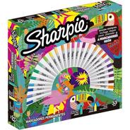 Marcadores Permanente Ruleta Sharpie X 30 Edición Especial