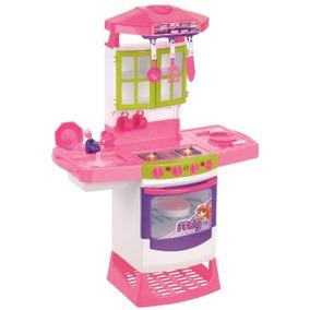 Cozinha Completa Infantil Mágica Eletrônica Super 8019