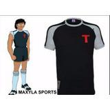 Camiseta De Los Super Campeones Steve Hyuga Francocanadiense
