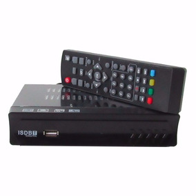 Kit 2 Conversor Tv Digital Função Gravador Hd Usb Rca Hdmi