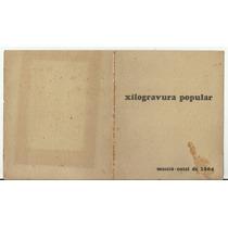 Cartão Xilogravura Natalina - Maceió 1964 Sem Assinatura
