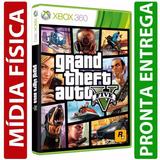 Gta 5 Grand Theft Auto V Midia Fisica Original Xbox 360