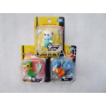 Set De Figuras Pokémon Snivy Tepig Oshawott Tomy®