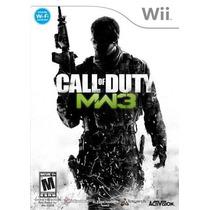 Call Of Duty Mw3 Nintendo Wii Nuevo Sellado Original