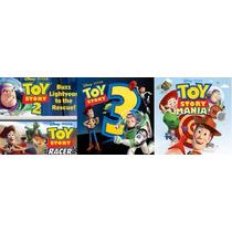 Toy Story Pacote 2,3 Race E Mania Game Ps3 Midia Digital Psn