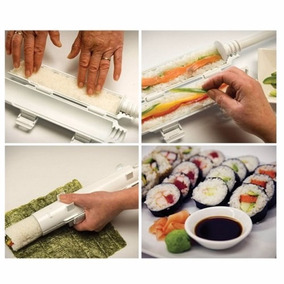 Sushezi Máquina Sushi Rollos Facil Roller Suchezi Tubo