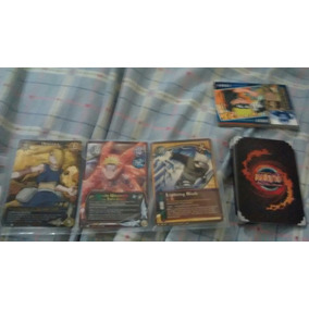 Card Game Naruto Original Americana 16 Cartas