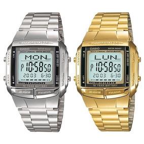 96dd564a6b4 Relogio Casio Dourado Ou Prata - Relógio Masculino no Mercado Livre ...