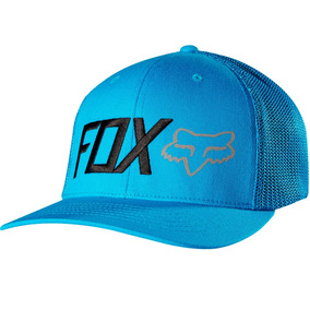 Gorra Fox Hard Press Flexfit Azul Hat 15012-029