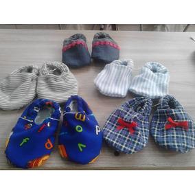Zapatos Tipo Babucha Para Niños De 6 A 8 Meses De Tela