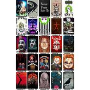 Kit 10 Placas Decorativas Filmes De Terror