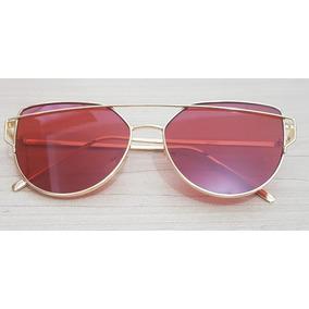 Óculos De Sol Modelo Paris 4clover Uv400 Geometrico Colorido. R  80. 12x R  6  sem juros 11db03f991