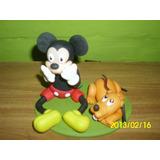 Adorno Para Tortas En Porcelana Fría, Mickey Mouse