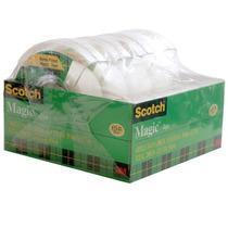 Paquete Cinta Magica Adhesiva Despachador Scotch 3m