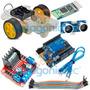 Kit Rover Rueda Motor Arduino Uno Sr04 L298 Hc05 Robot Ptec