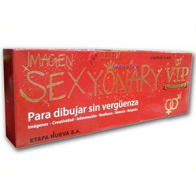 Sexionary Vip Bisonte / Tipo Pictionary Juego De Mesa