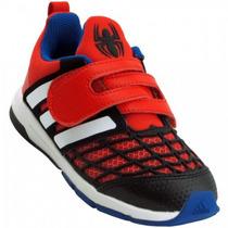Zapatillas Adidas Disney Spiderman Cf Bebés Rojo/negro