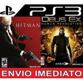 Hitman Absolution Mais Deus Ex Ps3 Psn Mais Barato