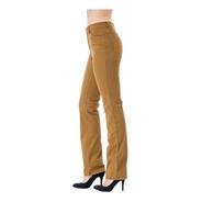 Pantalon Scandia Gabardina Stretch Recto Cintura