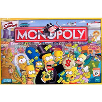 The Simpsons Monopoly Art 9770