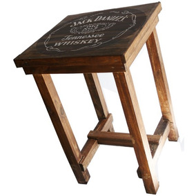 Mesas recicladas hogar muebles y jard n en mercado for Mesa alta madera bar