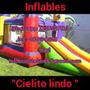 Alquiler De Castillo Inflable, Cama Elastica Y Plaza Blanda.