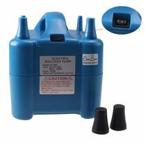 Inflador Inflar Globos Bomba Portátil Eléctrica Agptek Azul