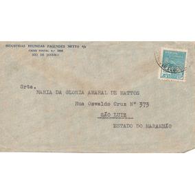 Maranhão 1935 Envelope Maria Da Glória Amaral De Mattos