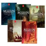 Coleção 5 Livros - Crônicas De Gelo E Fogo - Game Of Thrones