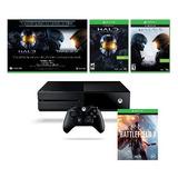 Consola Xbox One 500gb Battlefield 1 Y Saga Halo Mcc Y 5