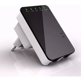 Mini Repetidor Roteador Expansor Sinal Wifi Wireless 300mbps