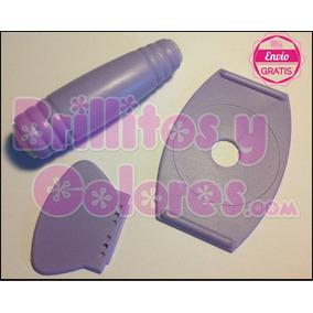 Estampador Doble Con Base Y Escrepeador Para Placas / Sellos