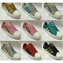 Zapatos Adidas Y Nike Brillantes Nuevo Modelo