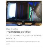 Televisor Admiral Para Repuestoo Reparar Escucho Oferta